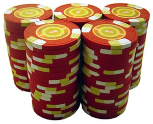 Cores de chips de cassino